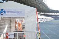 Decontamination Unit at Philippine Arena
