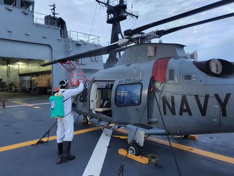 Bio Fogging and Misting at Philippine Navy