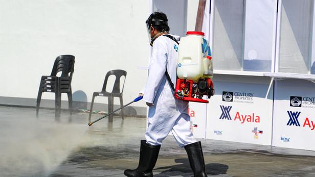 Bio Fogging and Misting at Philippine Arena