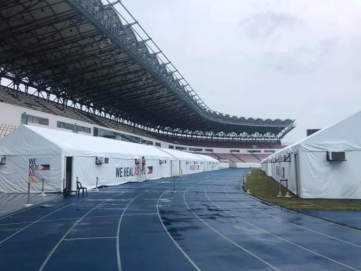 Covid Testing at Philippine Arena