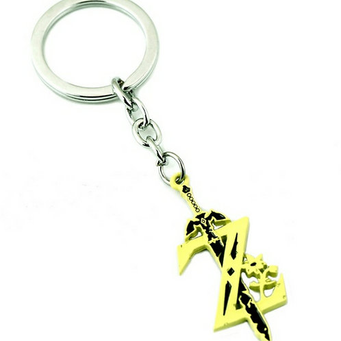 Z with Sword Keychain