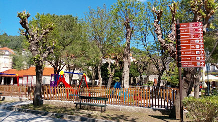 Children's playground in Šipanska Luka
