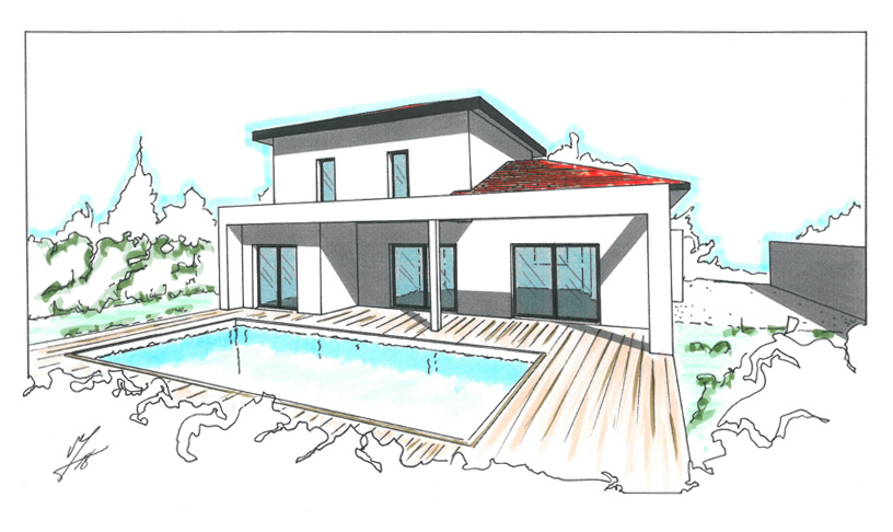maison moderne 145m2
