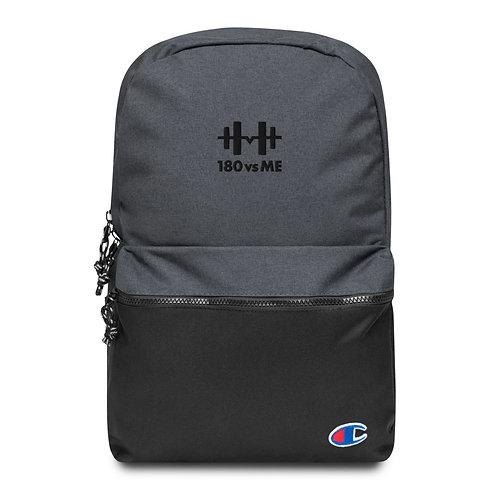 180vsME Embroidered Champion Backpack