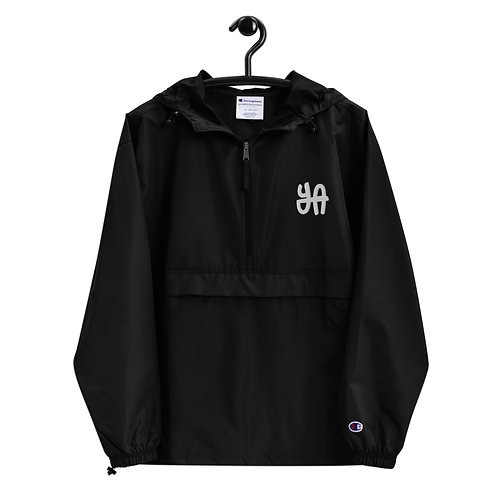 YA Embroidered Champion Packable Jacket