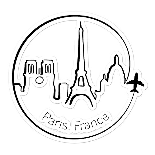 Paris Bubble-free stickers