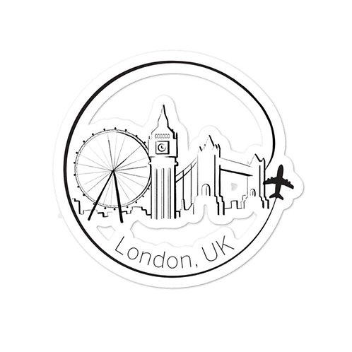 London Bubble-free stickers