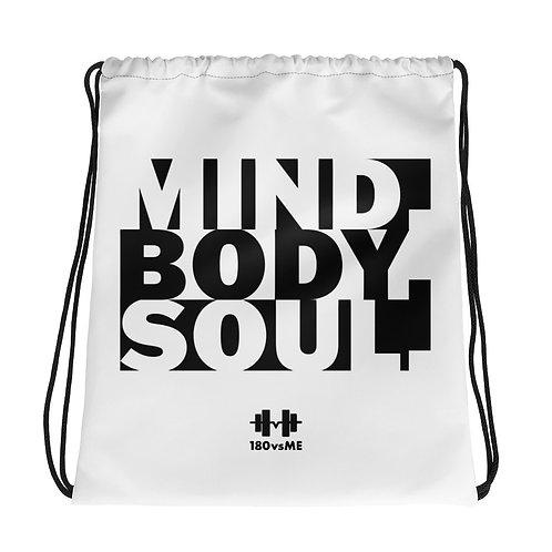 Mind Body Soul Drawstring bag