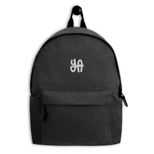 YA Embroidered Backpack