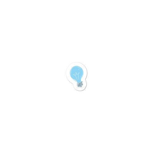 Lightbulb Sticker