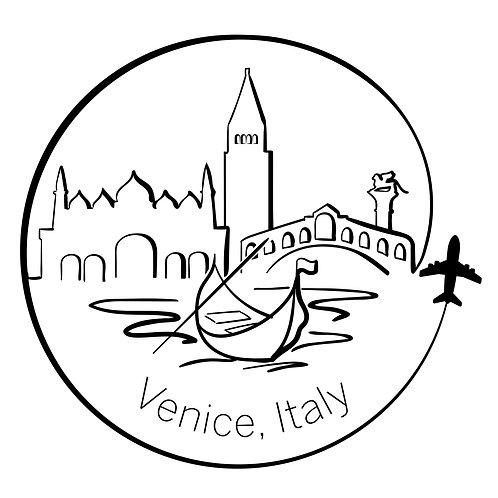 Venice Bubble-free stickers