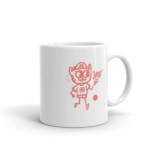 Yes Cat Mug