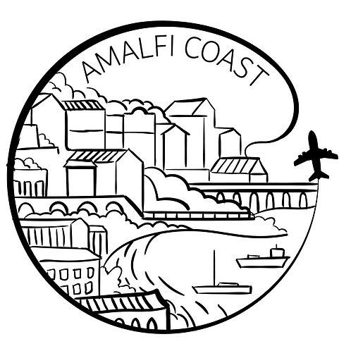 Amalfi Coast Bubble-free stickers
