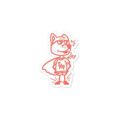 YA Pup Sticker