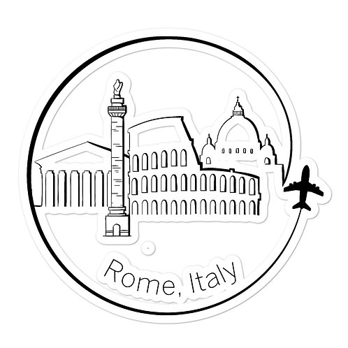 Rome Bubble-free stickers