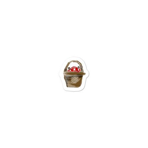 Apple Basket Sticker
