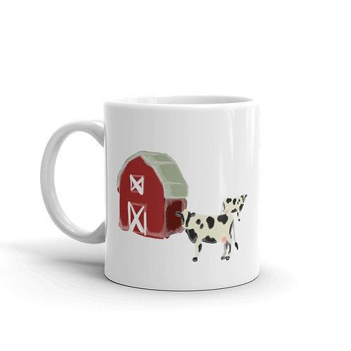 Farm Scene Mug