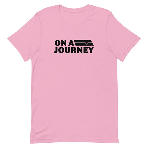 On A Journey Pink Unisex T-Shirt