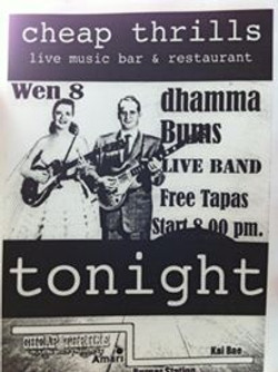 Promo Poster for Dhamma Bums