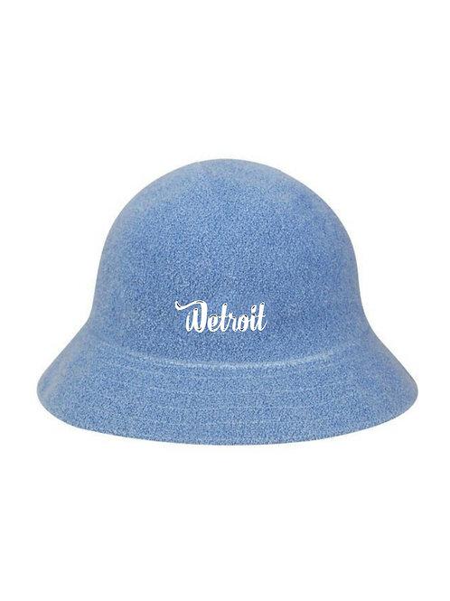 Powder Blue Casual Bucket Hat