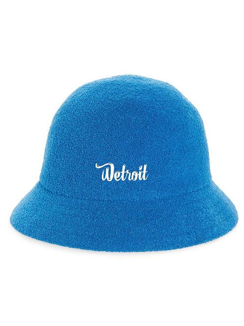 Royal Blue Casual Bucket Hat