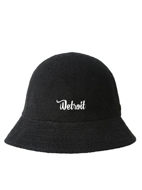 Black Casual Bucket Hat