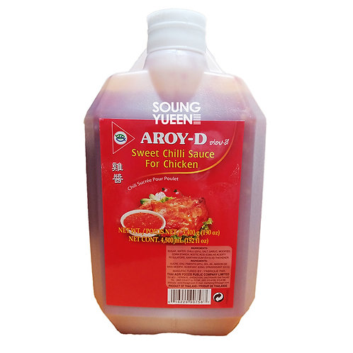 AROY-D SWEET CHILLI SAUCE FOR CHICKEN 4.5L