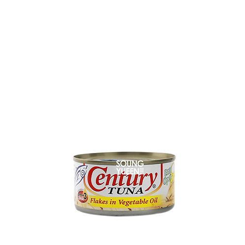 CENTURY TUNA FLAKES IN VEGETABLE OIL180G