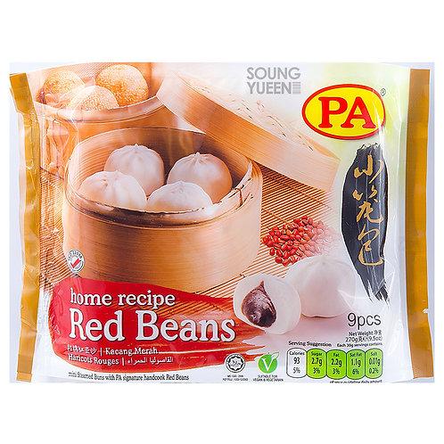PA MINI STEAMED BUN RED BEAN 9PCS/30G