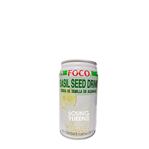 FOCO BASIL SEED DRINK 350ML