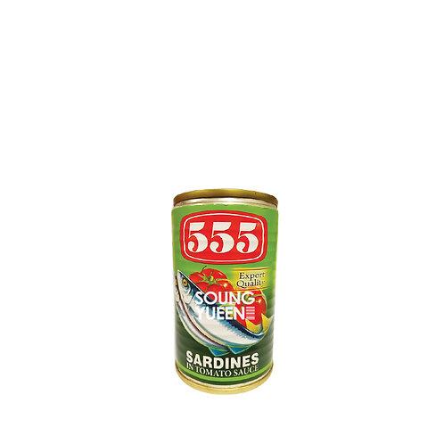 555 SARDINES TOMATO SAUCE 155G