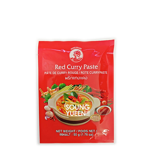 COCK RED CURRY PASTE 50G