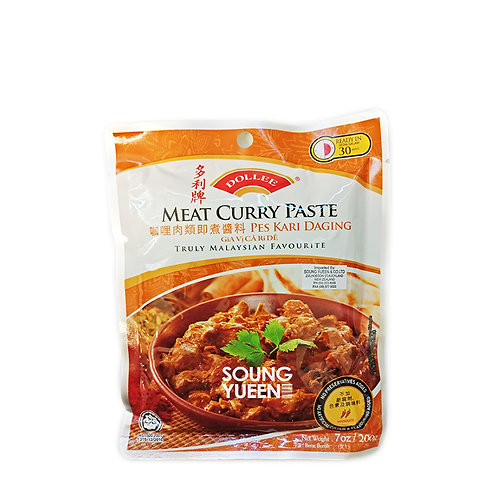 DOLLEE MEAT CURRY PASTE 200G