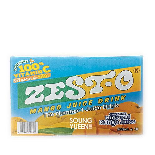 ZESTO MANGO JUICE DRINK 200ML