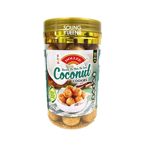 DOLLEE COCONUT COOKIES 220G
