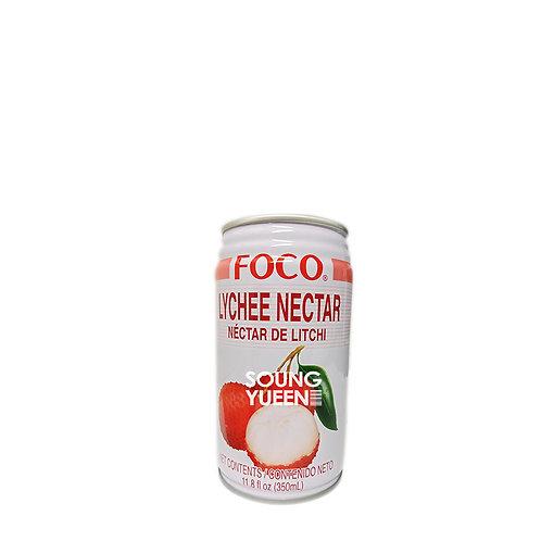 FOCO LYCHEE NECTAR DRINK 350ML