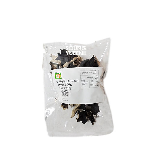 TIGER KING WHITE BACK BLACK FUNGUS (WOODEAR) 100G