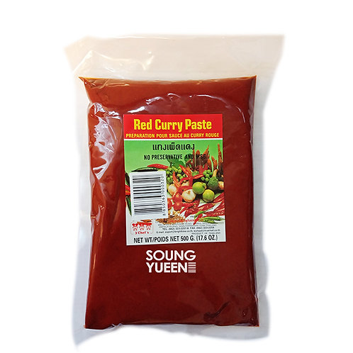 3 CHEF'S RED CURRY PASTE 500G