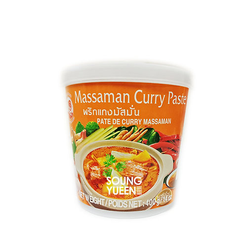 COCK MASSAMAN CURRY PASTE 400G