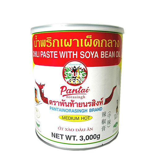 PANTAI CHILLI PASTE WITH SOYA BEAN OIL 3KG
