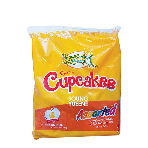 LEMON SQUARE ASSORTED CUP CAKE 10/30G