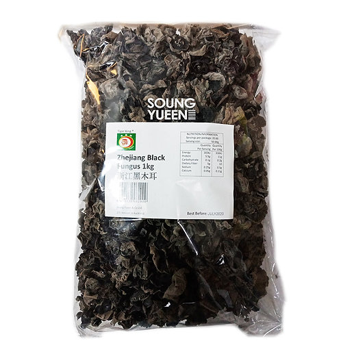 TIGER KING ZHEJIANG BLACK FUNGUS 1KG