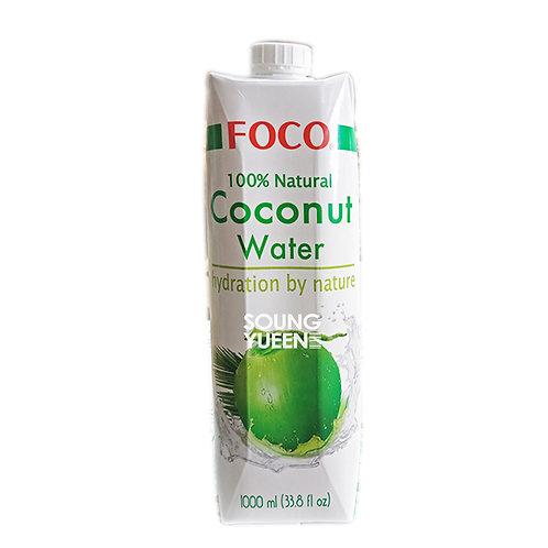 FOCO 100% COCONUT WATER 1L