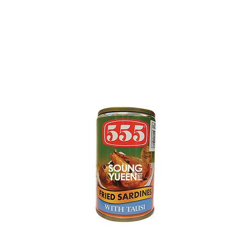 555 FRIED SARDINES WITH TAUSI 155G
