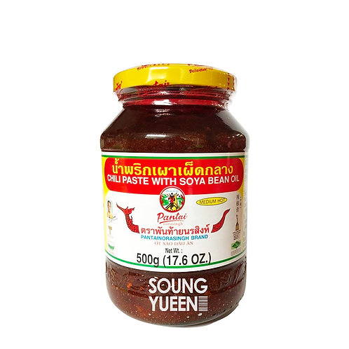 PANTAI CHILLI PASTE WITH SOYA BEAN OIL 500G