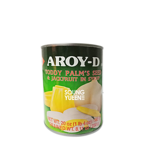 AROY-D TODDY PALM'S SEED & JACKFRUIT IN SYRUP 565G