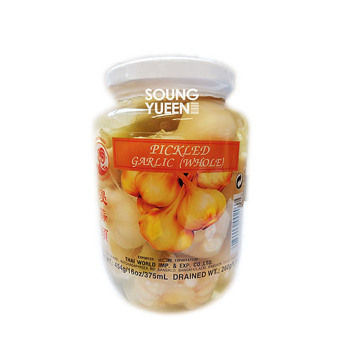 COCK PICKLED GARLIC (WHOLE) 454G