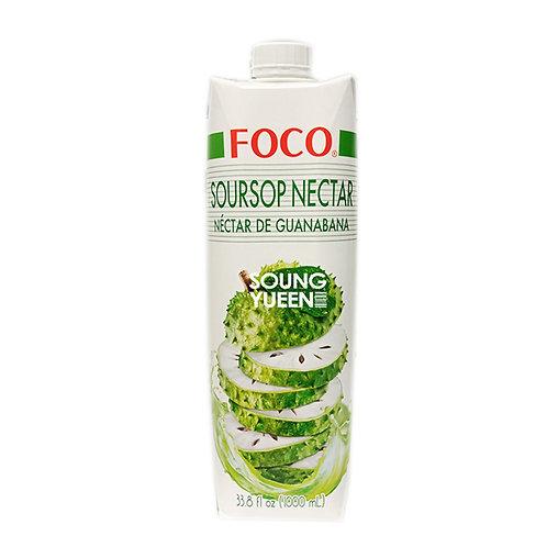 FOCO SOURSOP NECTAR DRINK 1L