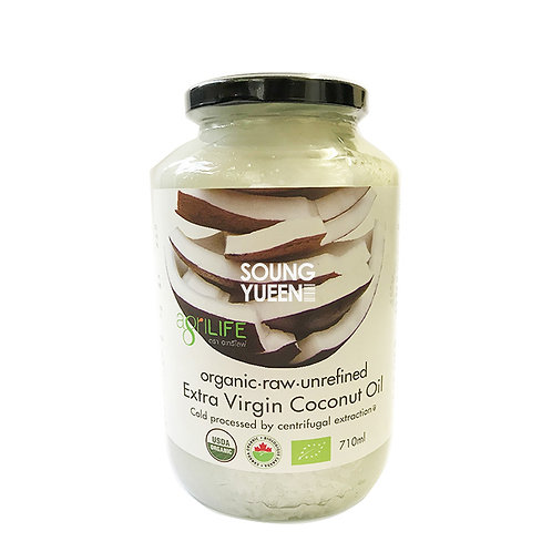 AGRILIFE EXTRA VIRGIN COCONUT OIL 710ML