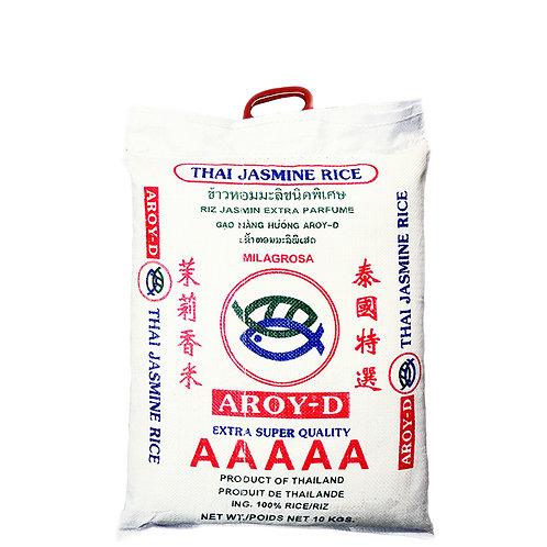AROY-D THAI JASMINE LONG GRAIN RICE 10KG